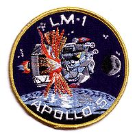 Insigne de la mission Apollo 5.