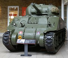 M4 Sherman tank at the Imperial War Musuem.jpg
