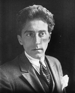 Jean Cocteau en 1923.Bibliothèque nationale de France