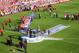 Trophy presentation Highbury 2004.JPG
